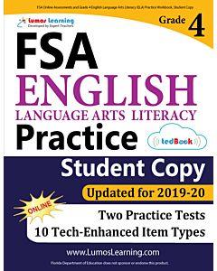 FSA Practice tedBook® - Grade 3 ELA, Student Copy