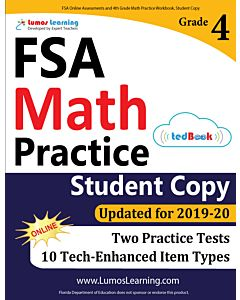 FSA Practice tedBook® - Grade 4 Math, Student Copy
