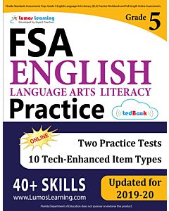 FSA Practice tedBook® - Grade 5 ELA, Teacher Copy