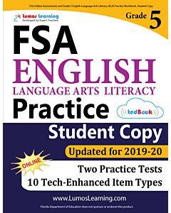 FSA Practice tedBook® - Grade 5 ELA, Student Copy
