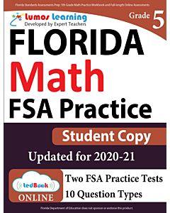 FSA Practice tedBook® - Grade 5 Math, Student Copy