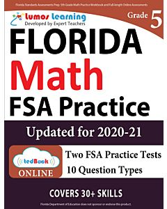 FSA Practice tedBook® - Grade 5 Math, Teacher Copy