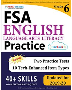 FSA Practice tedBook® - Grade 6 ELA, Teacher Copy