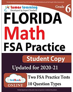 ILEARN Practice tedBook® - Grade 6 Math, Student Copy