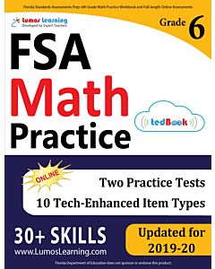 FSA Practice tedBook® - Grade 6 Math, Teacher Copy