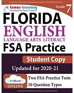 ILEARN Practice tedBook® - Grade 7 ELA, Student Copy