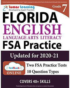 FSA Practice tedBook® - Grade 7 ELA, Teacher Copy
