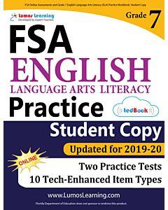 FSA Practice tedBook® - Grade 7 ELA, Student Copy