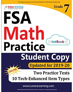 FSA Practice tedBook® - Grade 7 Math, Student Copy