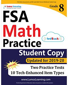 FSA Practice tedBook® - Grade 8 Math, Student Copy