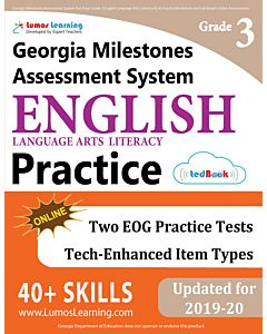 GMAS Practice tedBook® - Grade 3 ELA, Teacher Copy
