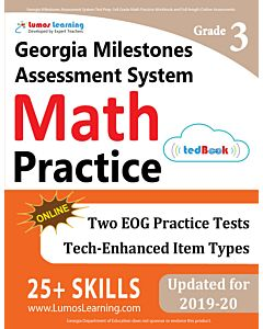 GMAS Practice tedBook® - Grade 3 Math, Teacher Copy