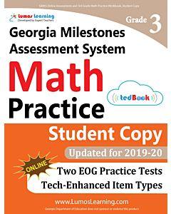 GMAS Practice tedBook® - Grade 3 Math, Student Copy