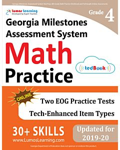 GMAS Practice tedBook® - Grade 4 Math, Teacher Copy