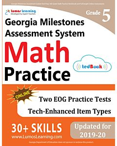 GMAS Practice tedBook® - Grade 5 Math, Teacher Copy