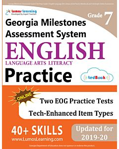 GMAS Practice tedBook® - Grade 7 ELA, Teacher Copy
