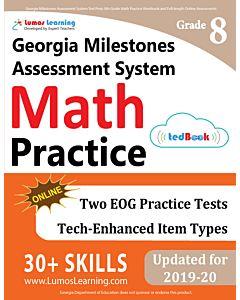GMAS Practice tedBook® - Grade 8 Math, Student Copy