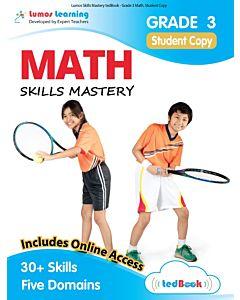 Skills Mastery tedBook® - Grade 3 Math, Student Copy