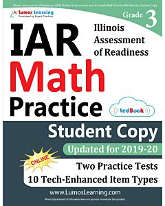 IAR Practice tedBook® - Grade 3 Math, Student Copy