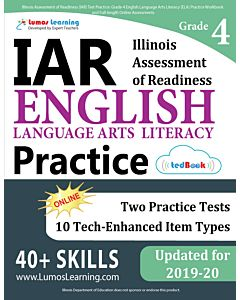 IAR Practice tedBook® - Grade 4 ELA, Teacher Copy