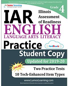 IAR Practice tedBook® - Grade 4 ELA, Student Copy