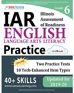 IAR Practice tedBook® - Grade 6 ELA, Teacher Copy
