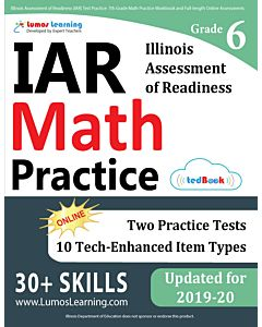 IAR Practice tedBook® - Grade 6 Math, Teacher Copy