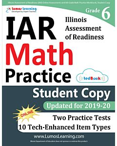 IAR Practice tedBook® - Grade 6 Math, Student Copy