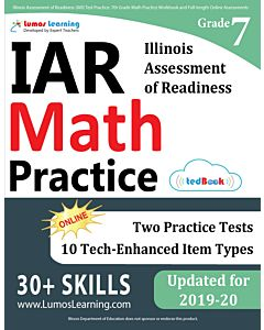 IAR Practice tedBook® - Grade 7 Math, Teacher Copy
