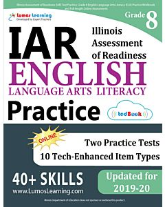 IAR Practice tedBook® - Grade 8 ELA, Teacher Copy