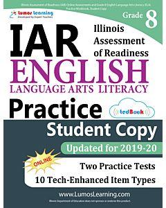 IAR Practice tedBook® - Grade 8 ELA, Student Copy