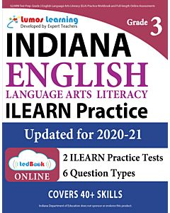 ILEARN Practice tedBook® - Grade 3 ELA, Teacher Copy