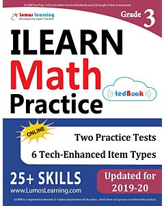 ILEARN Practice tedBook® - Grade 3 Math, Teacher Copy