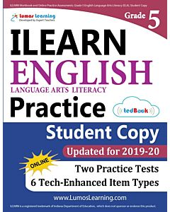 ILEARN Practice tedBook® - Grade 5 ELA, Student Copy