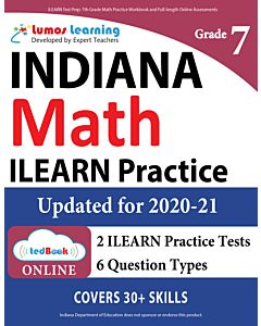 ILEARN Practice tedBook® - Grade 7 Math, Teacher Copy