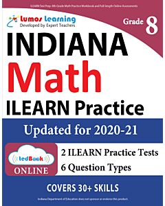 ILEARN Practice tedBook® - Grade 8 Math, Teacher Copy