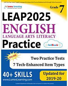 LEAP Practice tedBook® - Grade 7 ELA, Teacher Copy