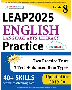 LEAP Practice tedBook® - Grade 8 ELA, Teacher Copy