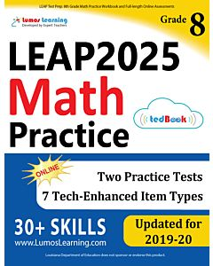LEAP Practice tedBook® - Grade 8 Math, Teacher Copy