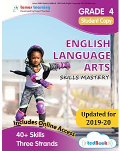 Skills Mastery tedBook ® - Grade 4 ELA, Student Copy