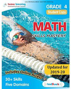 Skills Mastery tedBook® - Grade 4 Math, Student Copy