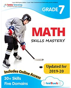 Skills Mastery tedBook® - Grade 7 Math, Teacher Copy