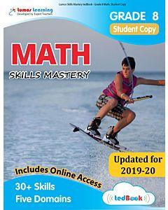 Skills Mastery tedBook® - Grade 8 Math, Student Copy