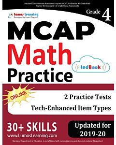 MCAP Practice tedBook® - Grade 4 Math, Teacher Copy