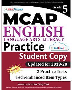 MCAP Practice tedBook® - Grade 5 ELA, Student Copy