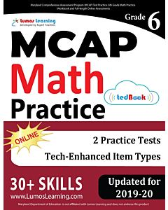 MCAP Practice tedBook® - Grade 6 Math, Teacher Copy
