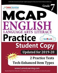 MCAP Practice tedBook® - Grade 7 ELA, Student Copy