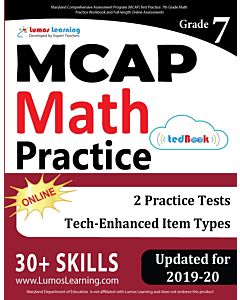 MCAP Practice tedBook® - Grade 7 Math, Teacher Copy