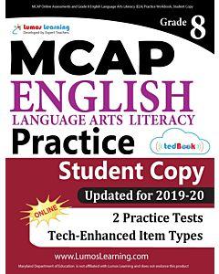 MCAP Practice tedBook® - Grade 8 ELA, Student Copy