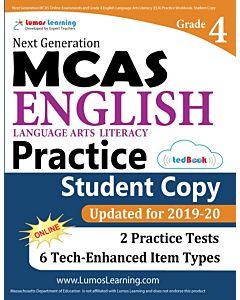 MCAS Practice tedBook® - Grade 4 ELA, Student Copy